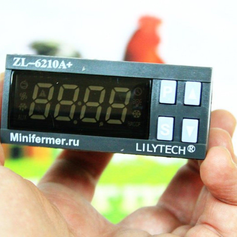Терморегулятор lilytech 6210 (30А)