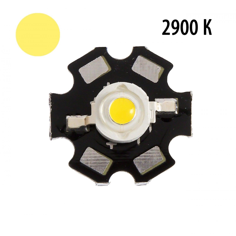 """Фито светодиод 5 Вт 2900k на PCB """"звезда"""""""