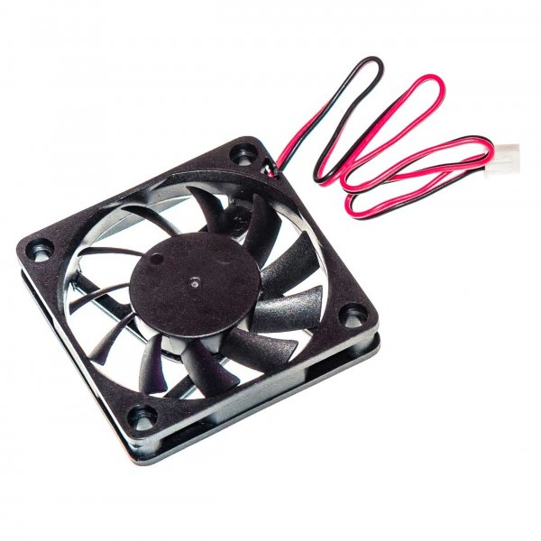 Осевой вентилятор корпусной 60х60х10мм 12Вольт