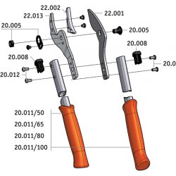 Сучкорез LOWE с наковаленкой 22.100