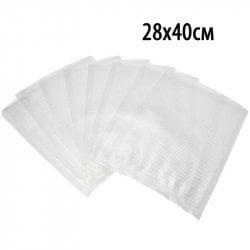 Пакет для вакуумной упаковки продуктов 28х40см (100шт).