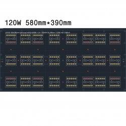 120.58 Quantum board 580 х 280 Samsung lm301b 4000K + Osram SSL 660nm+UV+660 nm 3030